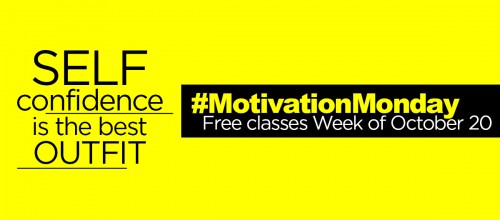 #MondayMotivation: Free Group Ex Classes Week of Oct. 20