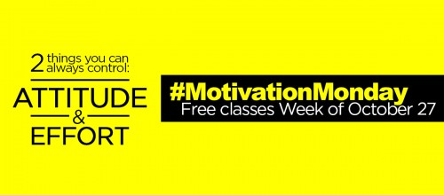 #MondayMotivation: Free Group Ex Classes Week of Oct. 27
