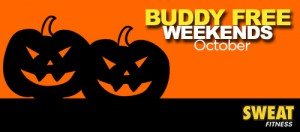 Buddy FREE Weekends in October: SWEAT Fitness