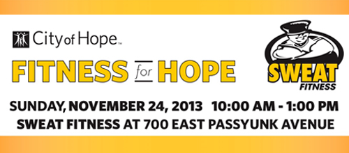 FITNESS for HOPE: Sunday, November 24 @ 10am
