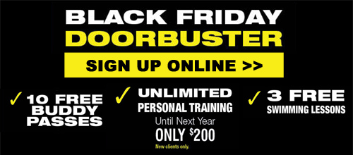 BLACK FRIDAY DOORBUSTERS!