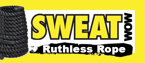 SWEAT WOW: Ruthless Rope Workout