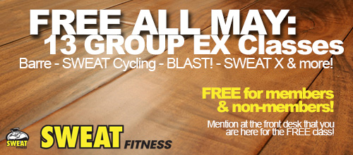 FREE Group Ex Classes All May 2014