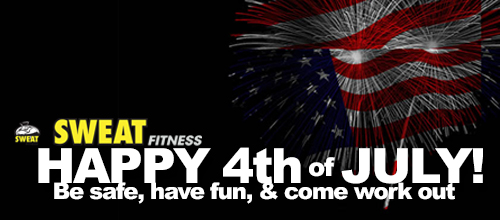 July 4th Weekend Hours & Group Ex Schedule