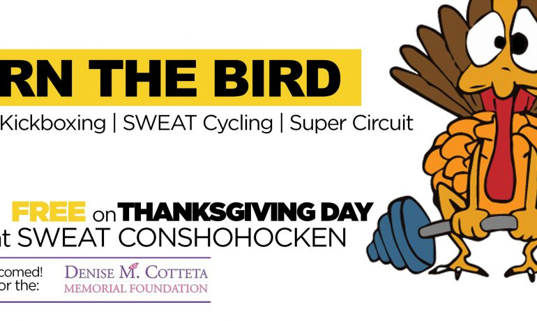 BURN the BIRD Thanksgiving Workout for the Denise M. Cotteta Memorial Foundation