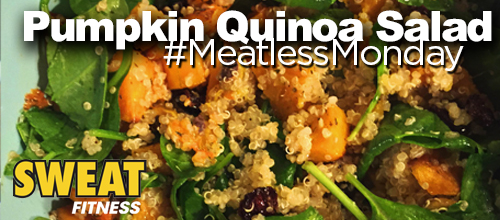 #MeatlessMonday Recipe: Pumpkin Quinoa Salad