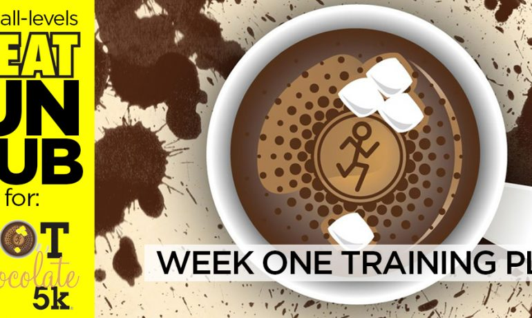 SWEAT Run Club: 2015 Hot Chocolate 5K Training, Week 1