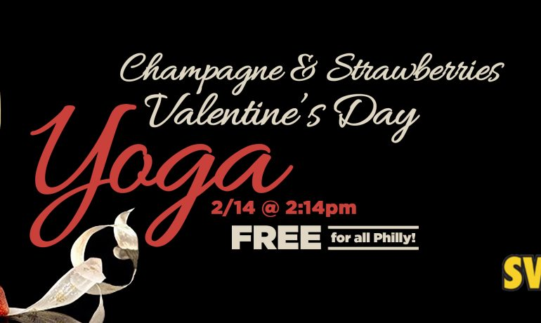 3rd Annual Champagne & Strawberries Valentine's Day Yoga