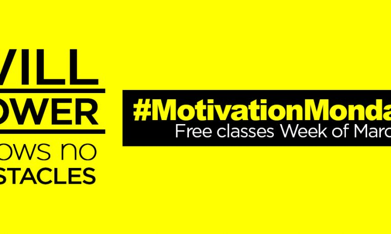 #MondayMotivation: Free Group Ex Classes Week of March 23