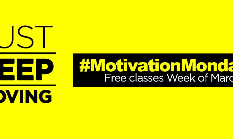 #MondayMotivation: Free Group Ex Classes Week of March 9